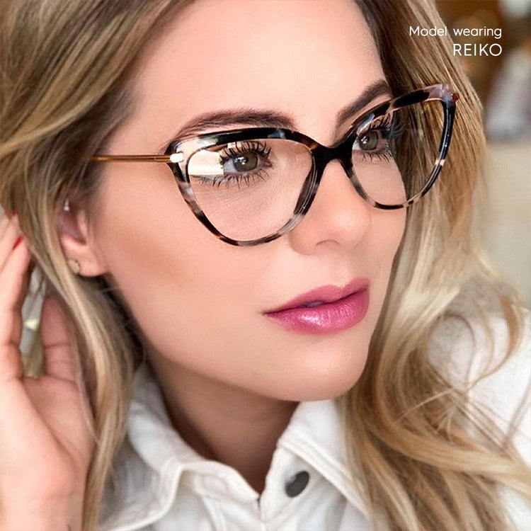 Buy Reiko Cat-Eye Prescription Computer Glasses | MOONSPECS