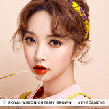 Load image into Gallery viewer, EyeCandys Pink Label Multi-Tone Brown colored contacts circle lenses - EyeCandy's