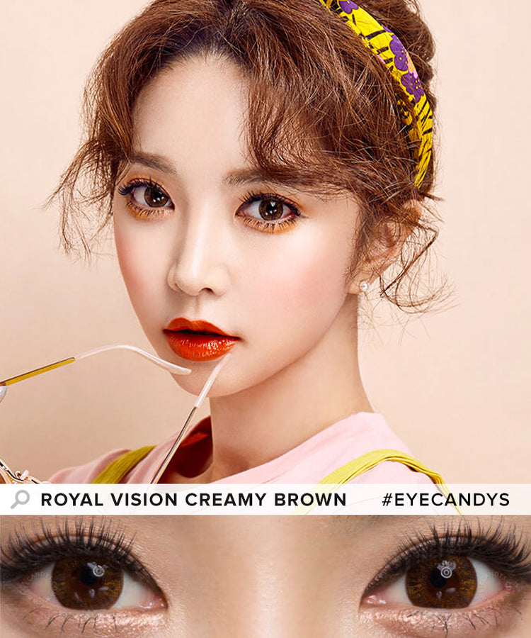 Buy EyeCandys Multi-Tone Brown Colored Contacts | EyeCandys