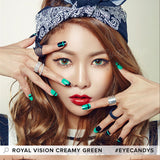 EyeCandys Pink Label Multi-Tone Green colored contacts circle lenses - EyeCandy's