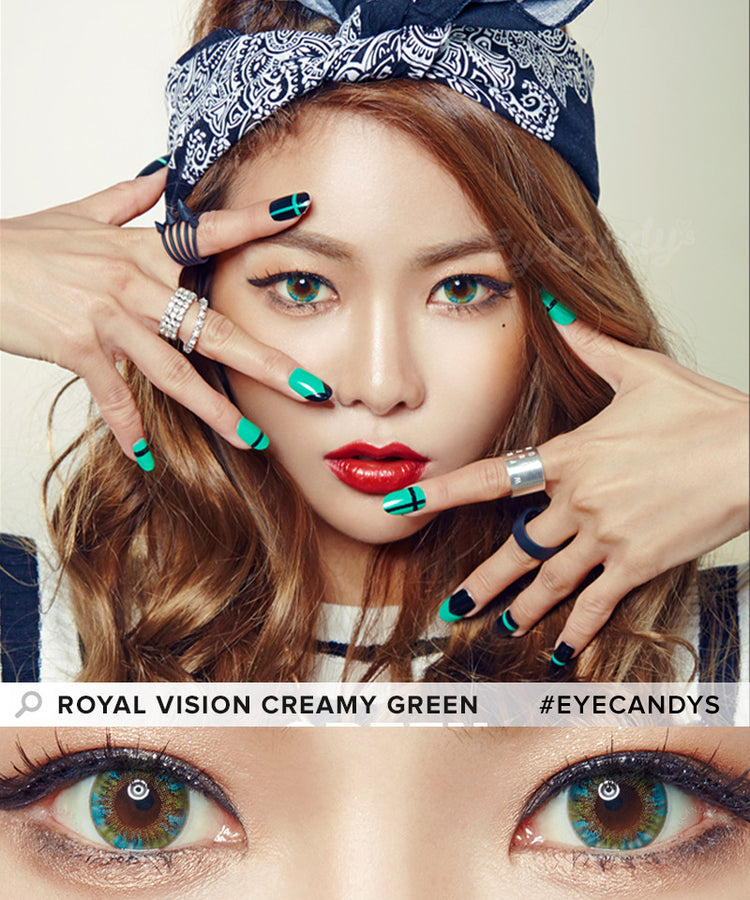Buy EyeCandys Multi-Tone Green Colored Contacts | EyeCandys