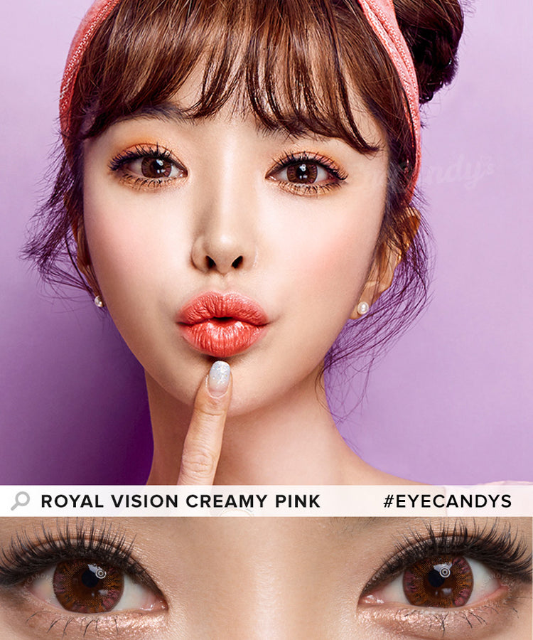 Buy EyeCandys Multi-Tone Pink Colored Contacts | EyeCandys