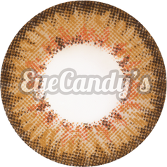 Royal Vision Macaron Brown colored contacts circle lenses - EyeCandy's