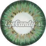 Royal Vision Macaron Green colored contacts circle lenses - EyeCandy's