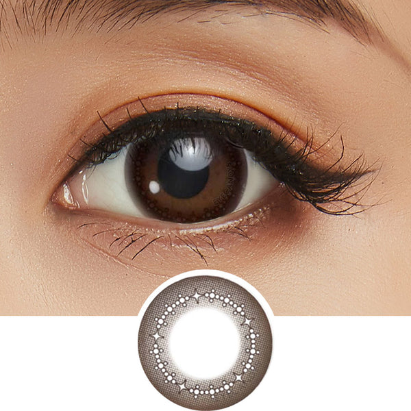 Seed Heroine Brown (10 Pcs) colored contacts circle lenses - EyeCandy's
