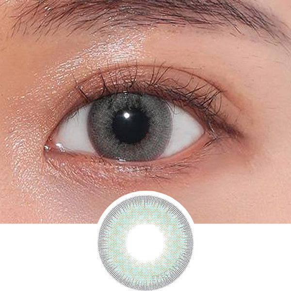 Hapa Kristin Shocked Kristin Green colored contacts circle lenses - EyeCandy's
