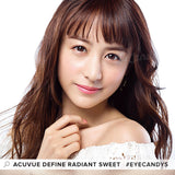 Acuvue Define Radiant Sweet (30 Pcs) colored contacts circle lenses - EyeCandy's