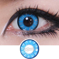 GEO Animation CP-A2 Blue colored contacts circle lenses - EyeCandy's