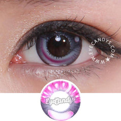 GEO Animation CP-A6 Purple colored contacts circle lenses - EyeCandy's