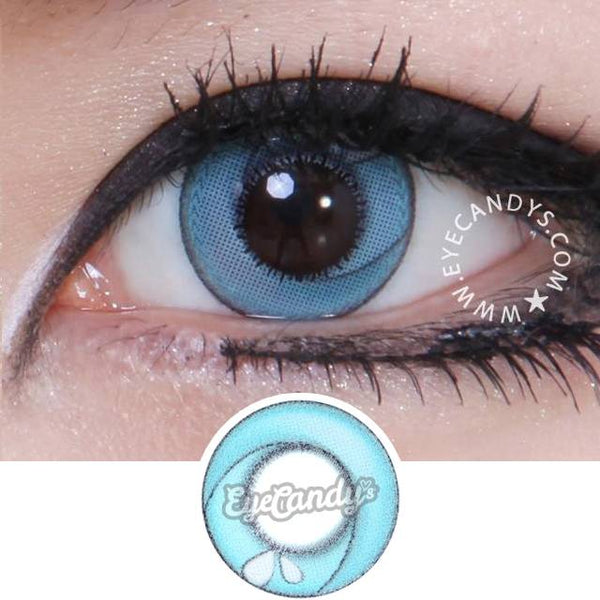 GEO Animation CP-A7 Blue colored contacts circle lenses - EyeCandy's