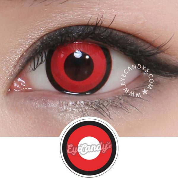 GEO Animation Red Manson colored contacts circle lenses - EyeCandy's