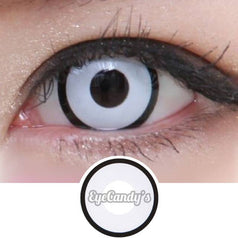 GEO Animation White Manson colored contacts circle lenses - EyeCandy's