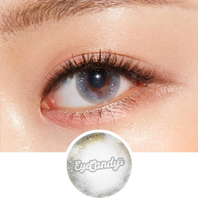 Lenstown Aquabling Grey colored contacts circle lenses - EyeCandy's