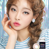 Lenstown Aurorabling Grey colored contacts circle lenses - EyeCandy's