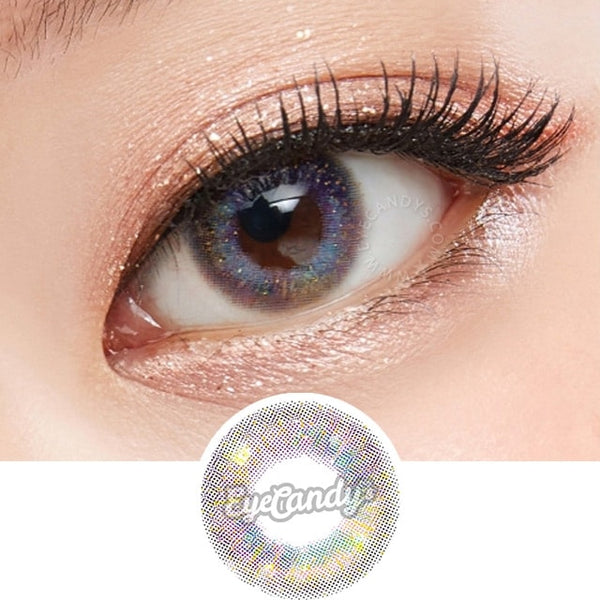 Lenstown Aurorabling Violet colored contacts circle lenses - EyeCandy's