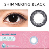 Bausch & Lomb Lacelle Dazzle Ring Shimmering Black
