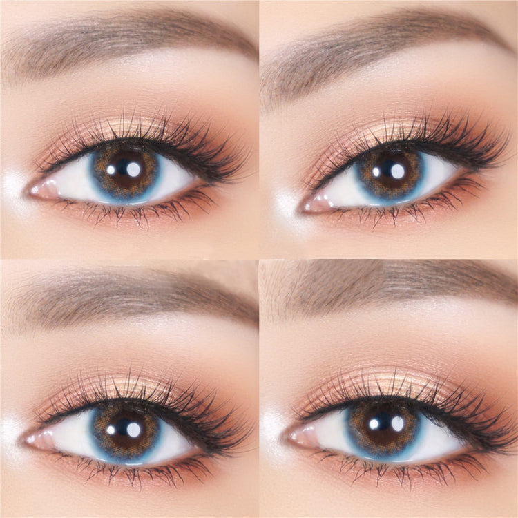 Buy JennyBee Caribbean Blue Color Contacts | EyeCandys