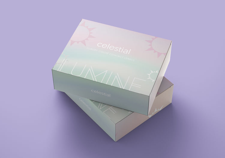 Buy Celestial Grey Color Contact Lenses | LUMINE Lens