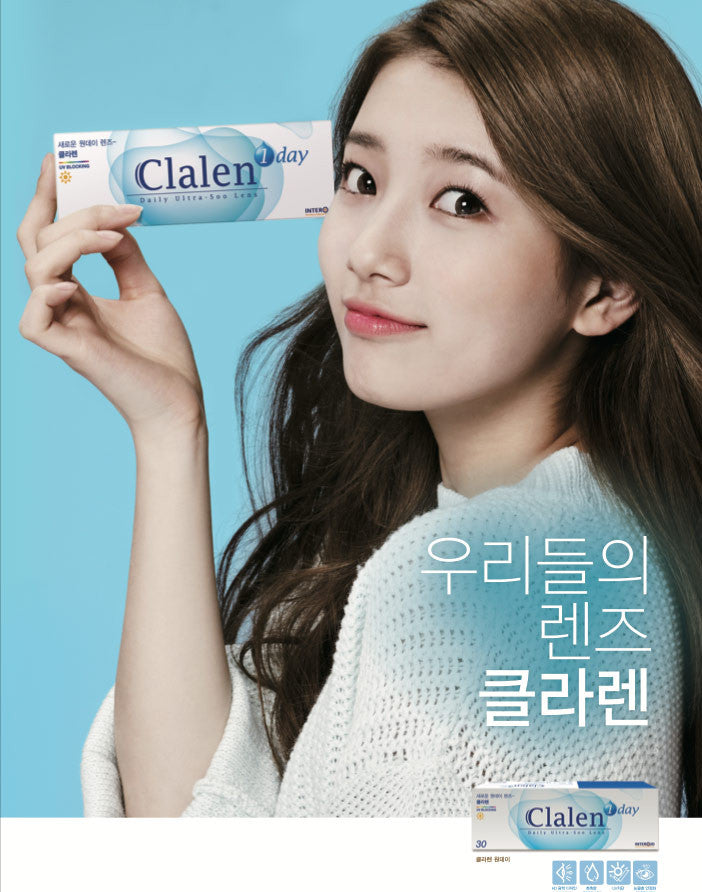 Buy Clalen Ultra-Soo (30 Pcs) Daily Contact Lenses | EyeCandys