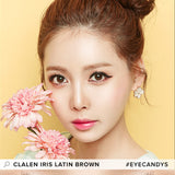 Clalen Iris Latin Brown 30 lenses/box - EyeCandy's