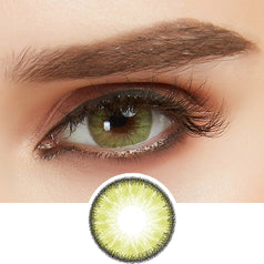 EyeCandys Desire Lush Green colored contacts circle lenses - EyeCandy's