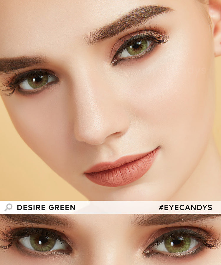 Buy EyeCandy's Desire Lush Green Colored Eye Contacts | EyeCandys