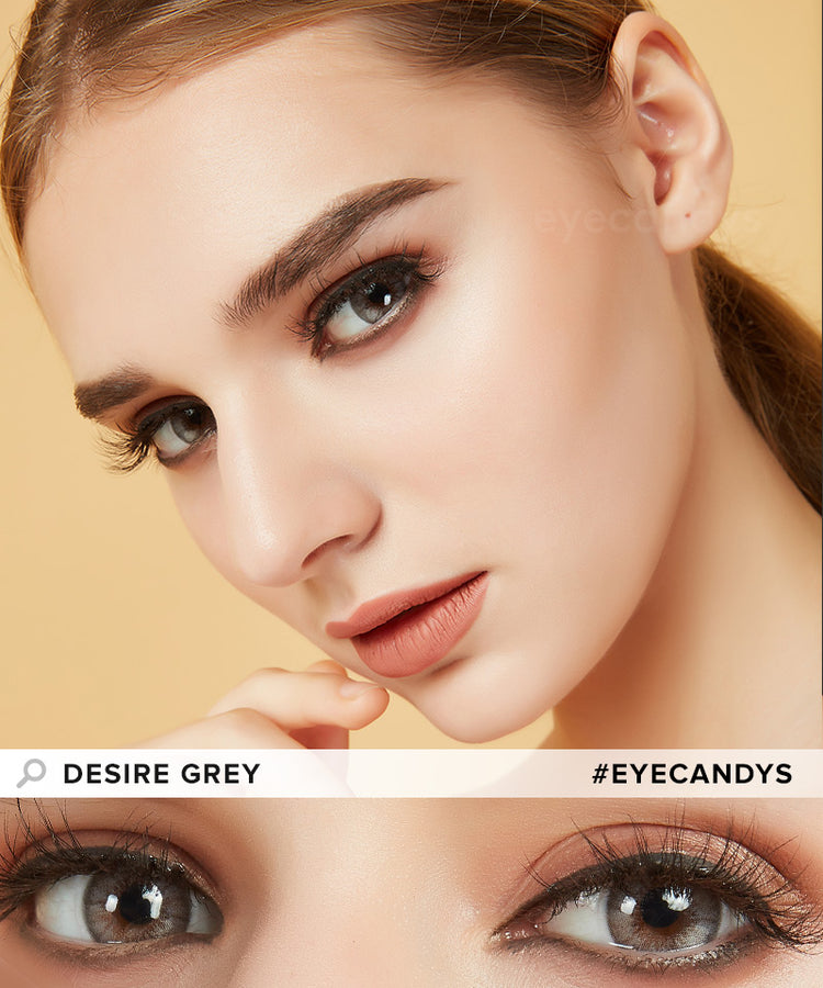 Buy EyeCandy's Desire Mist Grey Colored Eye Contacts | EyeCandys