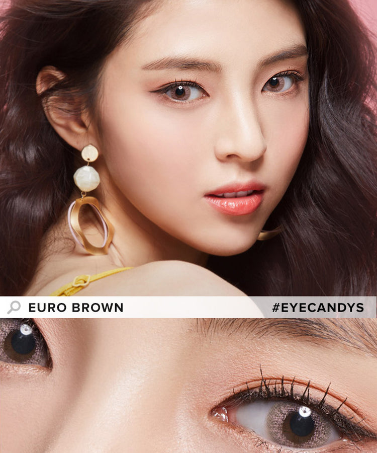 Buy EyeCandys Euro Brown Color Contacts | EyeCandys