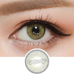 EyeCandys Glossy Blink Sky Grey colored contacts circle lenses - EyeCandy's