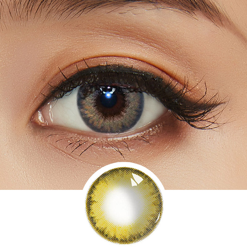 EyeCandys Spotlight Brown colored contacts circle lenses - EyeCandy's