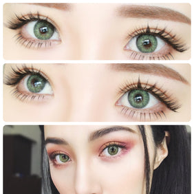 Freshlook Colorblends Gemstone Green colored contact lenses - EyeCandys