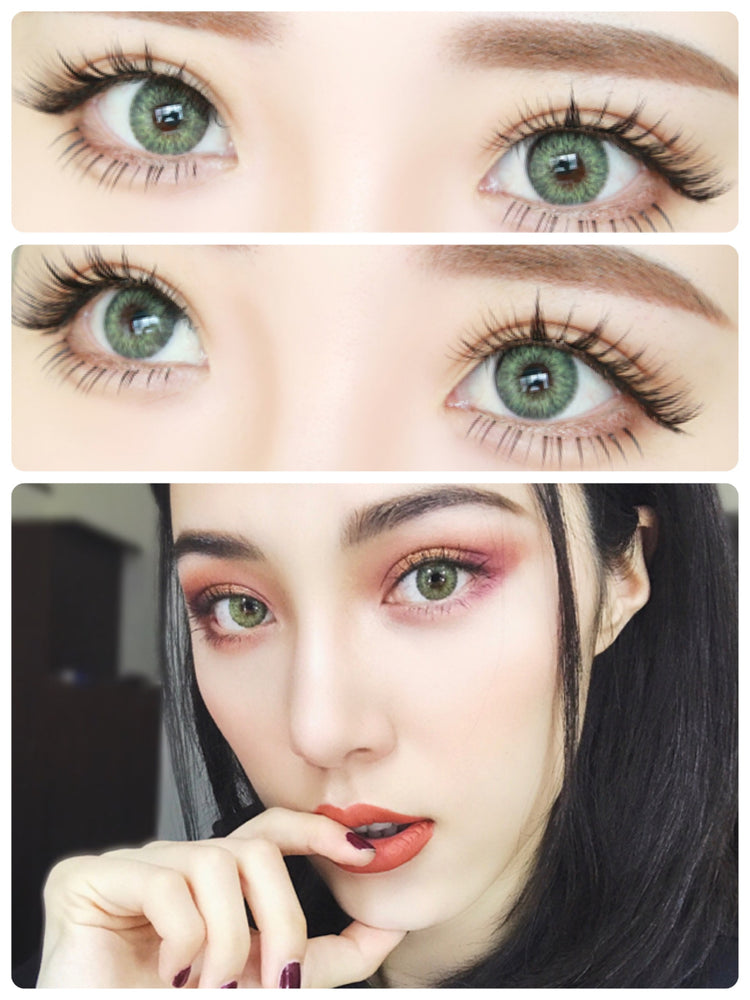 Buy Freshlook Colorblends Gemstone Green Colored Contacts | EyeCandys