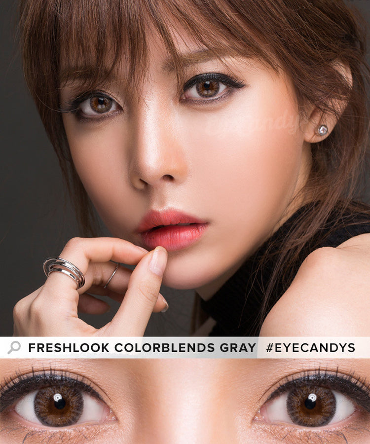 Buy Freshlook Colorblends Grey Colored Contacts | EyeCandys