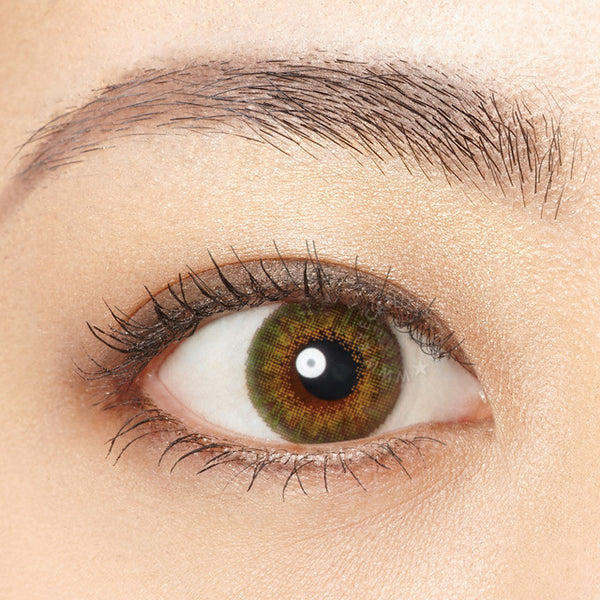 Buy Freshlook Colorblends Green Colored Contacts Eyecandys