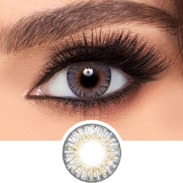 Freshlook Colorblends Grey colored contacts circle lenses - EyeCandy's