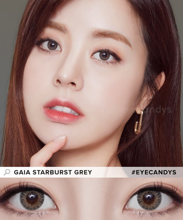 Buy Starburst Grey Color Contacts | EyeCandys