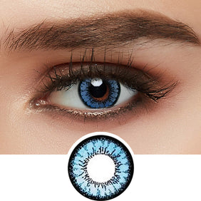 GEO Angel Blue colored contacts circle lenses - EyeCandy's