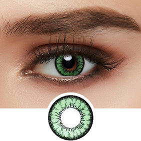 GEO Angel Green colored contacts circle lenses - EyeCandy's