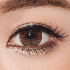 GEO Grang Grang Big Brown 1 pair (2 lenses) - EyeCandy's