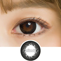 GEO Princess Black colored contacts circle lenses - EyeCandy's