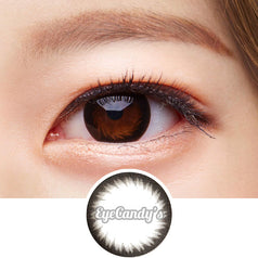 GEO Annex Ring Black colored contacts circle lenses - EyeCandy's
