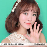 GEO Tri-Color Brown