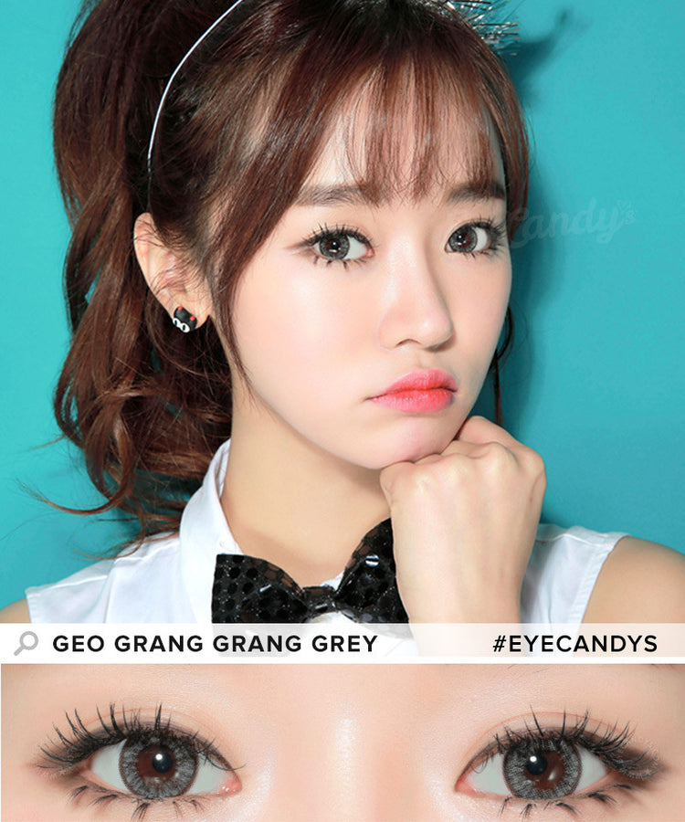 Buy GEO Grang Grang Grey Circle Lenses | EyeCandys