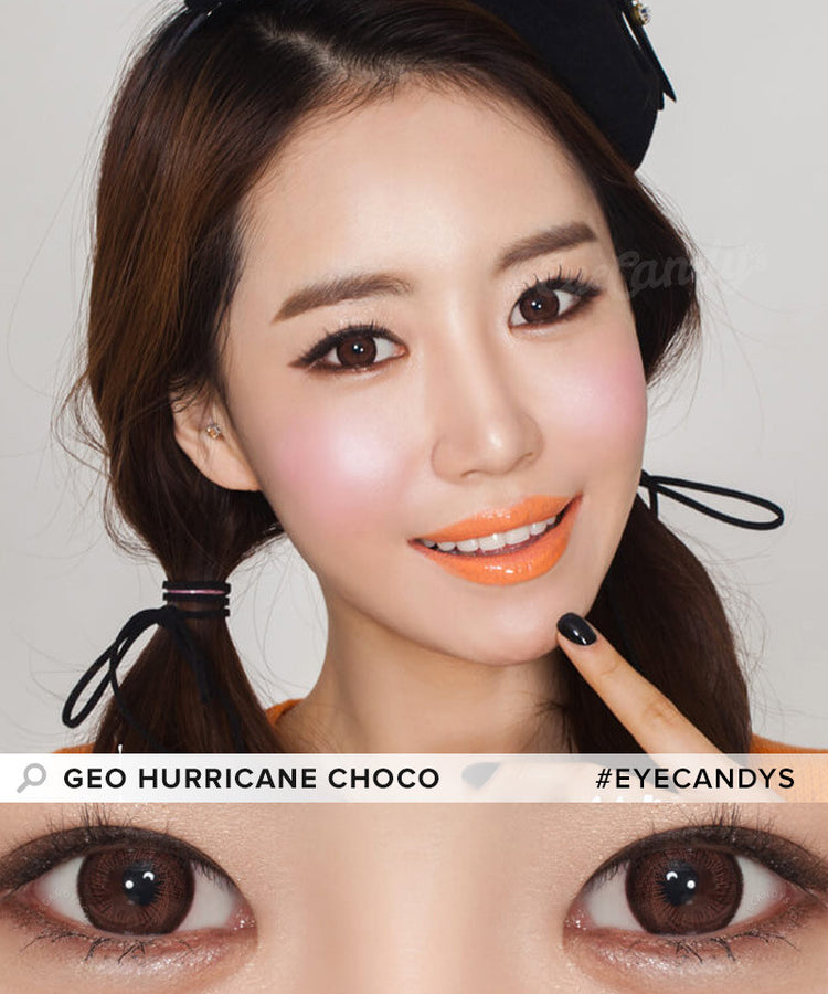 Buy GEO Hurricane Choco Colored Contacts | EyeCandys
