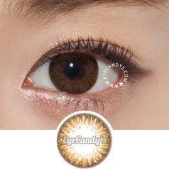 GEO Coco 2W Brown colored contacts circle lenses - EyeCandy's