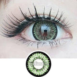 GEO Super Nudy Green colored contacts circle lenses - EyeCandy's