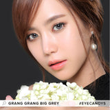 Load image into Gallery viewer, GEO Grang Grang Big Grey (KR) colored contact lenses - EyeCandys