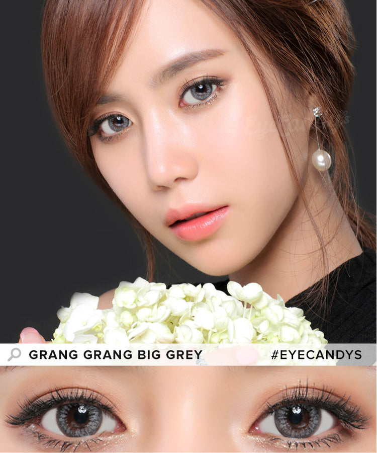 Buy GEO Grang Grang Big Grey Circle Lenses | EyeCandys