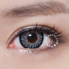 GEO Princess Mimi Sesame Grey 1 pair (2 lenses) - EyeCandy's