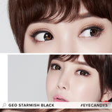 GEO Starmish Black 1 pair (2 lenses) - EyeCandy's